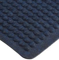 M+A Matting 405 Cobalt Blue Nitrile Rubber Airflex Anti Fatigue Mat, 3' Length x 2' Width, For Indoor/Outdoor