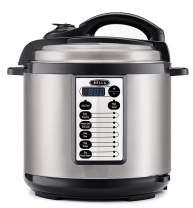 BELLA (14595) 8 Quart Multifunction Pressure Cooker with Digital Presets & Nonstick Cooking Pot