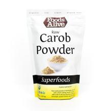 Raw Carob Powder, Organic, 8oz (Single Pack)