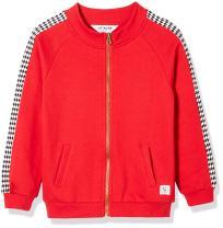Kid Nation Kids' Graphic Zip Fleece Jacket for Boys Or Girls