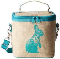 SoYoung Small Cooler Bag - Raw Linen, Eco-Friendly, Retro-Inspired, Leakproof, Easy to Clean