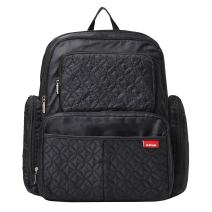 SoHo Manhattan Diaper Backpack Bag 5pc, Black