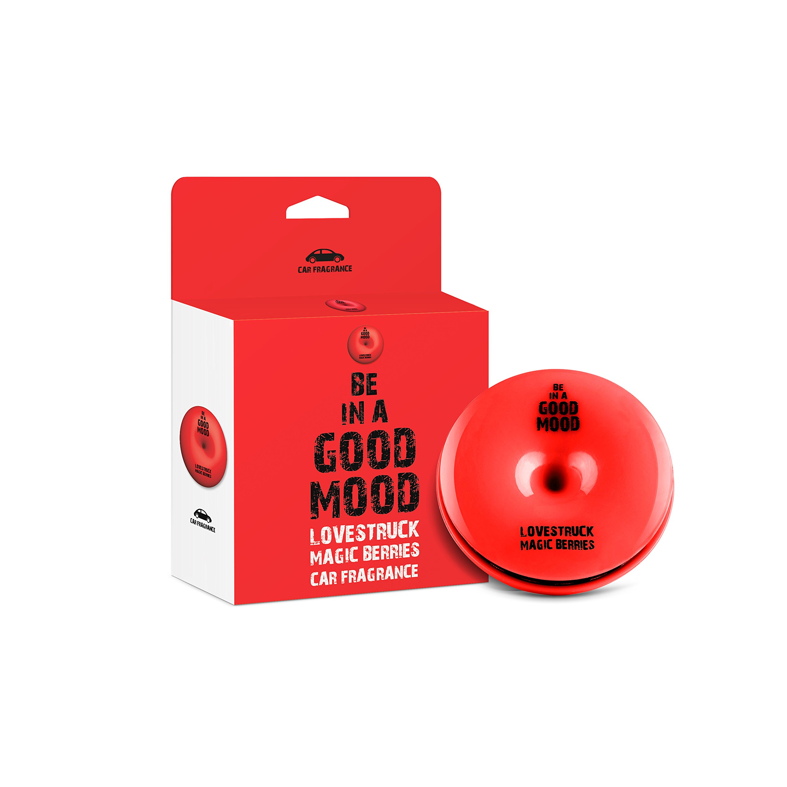 Be in a Good Mood Car Fragrances   Essential Oils   Car Air Freshener with Easy-to-Use Air Vent Diffuser   Boost Your Mood & Eliminate Unpleasant Odors (Magic Berries)