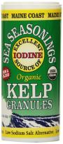 Kelp Granules Sea-Seasoning Shaker (Kelp Blend) | 1.5 oz tube | Organic Seaweed Seasoning | Maine Coast Sea Vegetables