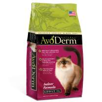 AvoDerm Natural Indoor Formula Dry Cat Food, Healthy Skin and Coat
