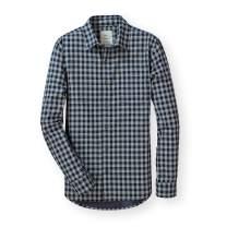 Hope & Henry Men's Convertible Double Weave Button Down Shirt