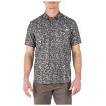 5.11 Tactical Men's Micro Camo Short Sleeve Shirt, Poly-Cotton, Style 71386