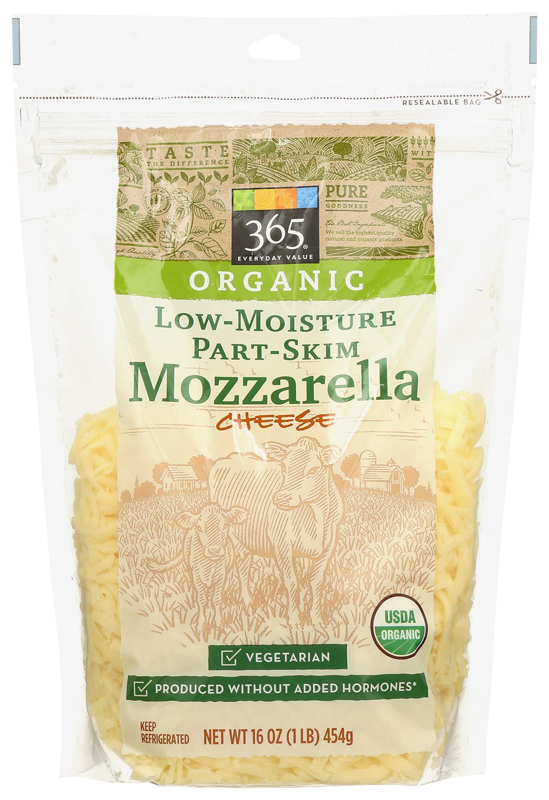 365 Everyday Value, Organic Mozzarella Cheese, Shredded, 16 oz