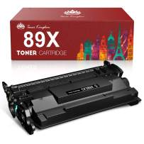 Toner Kingdom Compatible Toner Cartridge Replacement for HP 89X CF289X 89A CF289A for HP Laserjet Enterprise M507n M507dn M507X MFP M528c M528z M528dn M528f Printer (Black, 1-Pack)