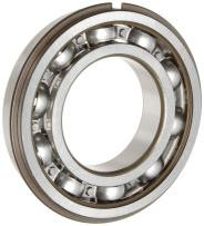 SKF 6210 NRJEM Light Series Deep Groove Ball Bearing, Deep Groove Design, ABEC 1 Precision, Open, Snap Ring, Steel Cage, C3 Clearance, 50mm Bore, 90mm OD, 20mm Width, 5220.0 pounds Static Load Capacity, 7890.00 pounds Dynamic Load Capacity