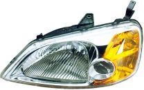 Dorman 1590506 Driver Side Headlight Assembly For Select Honda Models