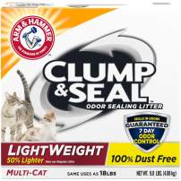 Arm & Hammer Clump & Seal Lightweight Litter, Multi-Cat, 9 Lbs