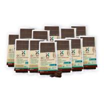 HNINA Gourmet Organic Raw 85% Dark Chocolate Bar with Pure Maple Syrup - Madame - 2.5 oz (70g) - 12-Pack
