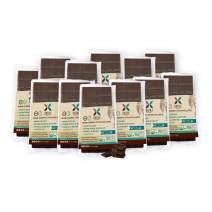 HNINA Gourmet Organic Raw 85% Dark Chocolate Bar with Pure Maple Syrup - Madame - 2.5 oz (70g) - 12-Pack