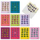 Stand Out In Crowd - 10 Assorted Thank You Cards with Envelope (4 x 5.12 Inch) - Colorful Fish Graduation, School Note Cards - All Occasion Stationery Card Notecard Pack M3914GTG-B1x10