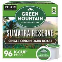 Green Mountain Coffee Roasters Sumatra Reserve, Single-Serve Keurig K-Cup Pods, Dark Roast Coffee, 96 Count