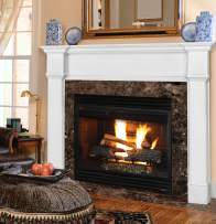 Pearl Mantels 550-56 Richmond Paint Grade Fireplace Mantel, Interior Opening 56-inch Wide by 42-inch High