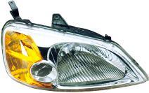 Dorman 1590507 Passenger Side Headlight Assembly For Select Honda Models