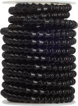 "Loc-Line Coolant Hose Component, Black Acetal Copolymer, Coil, 1/4"" Hose ID, 50' Length"
