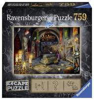 Ravensburger Escape Puzzle Vampire's Castle 759 Piece Jigsaw Puzzle for Kids and Adults Ages 12 and Up - an Escape Room Experience in Puzzle Form