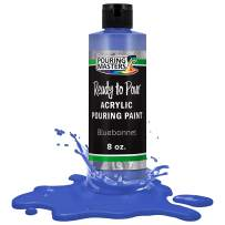 Pouring Masters Bluebonnet Acrylic Ready to Pour Pouring Paint – Premium 8-Ounce Pre-Mixed Water-Based - for Canvas, Wood, Paper, Crafts, Tile, Rocks and More