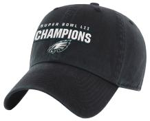 OTS NFL Mens Super Bowl 52 Champions Challenger Adjustable Hat