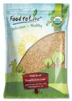 Organic Alfalfa Sprouting Seeds, 10 Pounds - Non-GMO, Kosher, Raw, Vegan