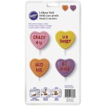 Wilton Candy Heart Lollipop Mold