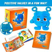 ENTYPALS Educational Plush & Learning Board Book, (Value of Respect) Great Gift Set for Kids or Children Boys or Girls. Kids Learning Toy. Toddler Activities and Kids Therapy Help. by Entyva