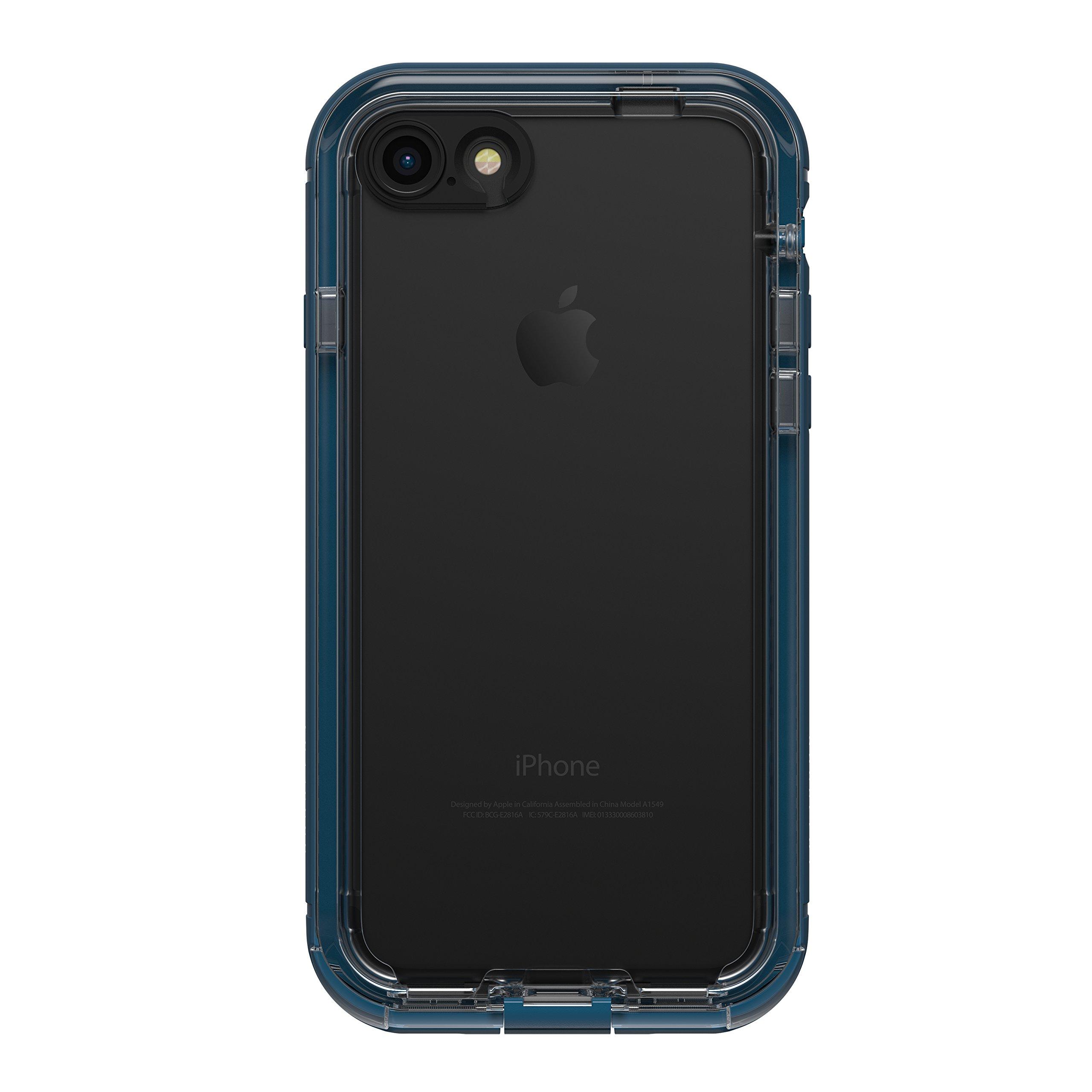 LifeProof NÜÜD SERIES Waterproof Case for iPhone 7 (ONLY) - Retail Packaging - MIDNIGHT INDIGO (INDIGO/BLAZER BLUE/CLEAR)