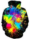 Linnhoy Unisex 3D Printed Hooded Sweatshirt Casual Pullover Hoodie with Big Pockets