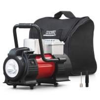 Kensun 12V DC Portable Air Compressor Pump - Upgraded 150W Digital Tire Inflator for Car Tires and Inflatables