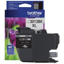 Brother Printer LC3013BKS Single Pack Cartridge Yield Up to 400 Pages LC3013 Ink Black
