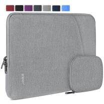 Laptop Sleeve Case 15-15.6 Inch Water-Resistant Business Computer Case Compatible with 15.6 Inch MacBook Air/Pro Notebook Protective Tablet Laptop Sleeve Bag for Men Women Grey