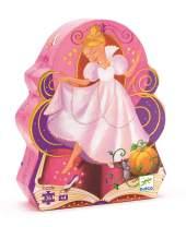 DJECO Cinderella Silhouette Jig Saw Puzzle