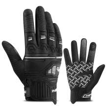 INBIKE Mountain Bike Gloves for Dirt Bike Motorcycle Cycling with 5MM Padded Touch Screen Knuckle Protection MTB