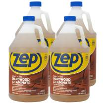 Zep Hardwood & Laminate Floor Cleaner 128 Ounce ZUHLF128 (Case of 4) Pro Grade Formula