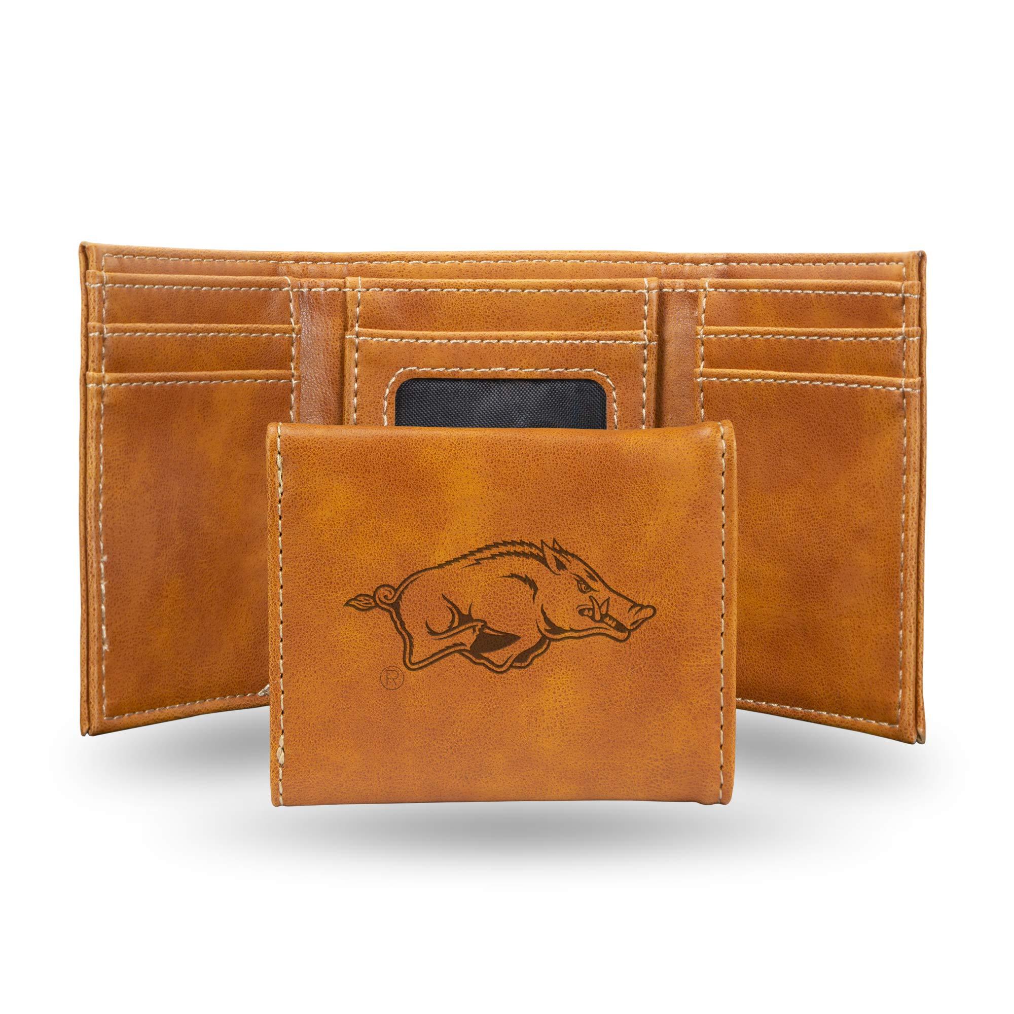 NCAA Rico Industries Laser Engraved Billfold Wallet Iowa Hawkeyes