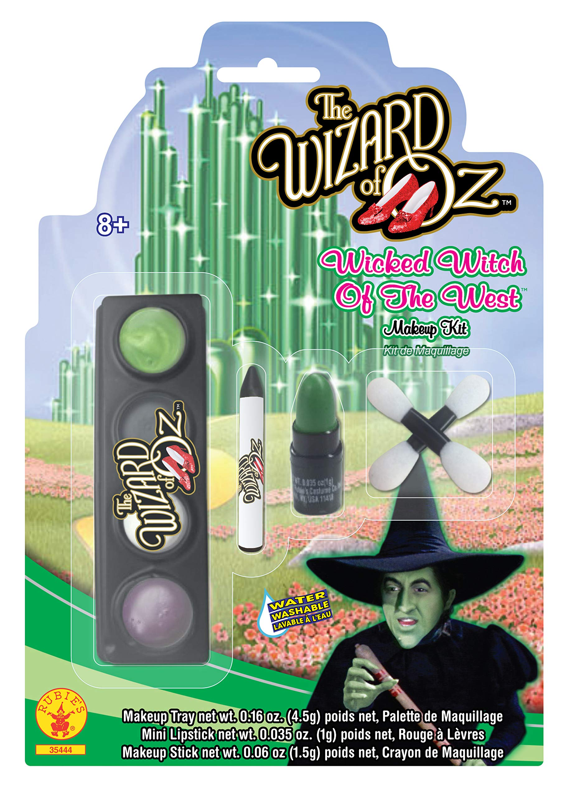Rubies Wizard of Oz 75th Anniversary Wicked Witch of The West Make-Up Kit