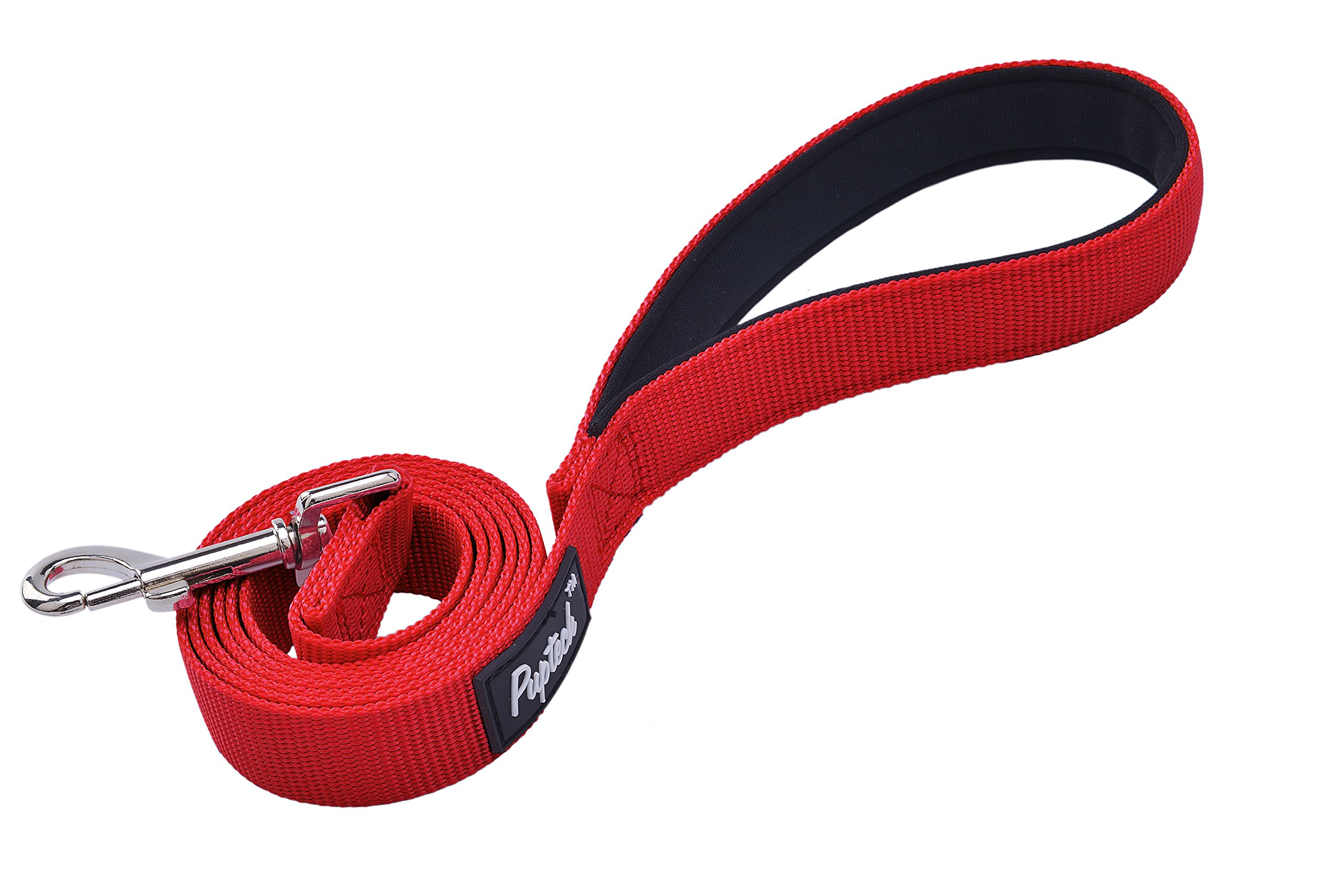PUPTECK Dog Training Leash Durable Nylon Lead with Padded Handle for Pet Puppy