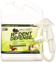 All Natural Rodent Defense Spray –Effective Repellent For Mice, Rats, Squirrels,Rabbits,Gophers, Raccoons&Most Small Animals -Outdoor &Indoor Mouse Deterrent For The Garden,Garage,Trash Cans