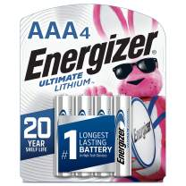 Energizer AAA Lithium Batteries, (Pack of 4)
