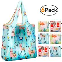 Reger Foldable Nylon Light Weight Compact Grocery Shopping Storage Bags Reusable & Mathine Washable Fits in Pocket Eco Friendly