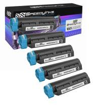 Speedy Inks Compatible Toner Cartridge Replacement for Okidata 44992405 (Black, 5-Pack)