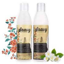 Color Protector Shampoo & Conditioner Set | Organic, Sulfate-Free & Vegan Hair Care | Jasmine | 8oz each