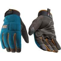 FX3 Men's Extreme Dexterity Blue Winter Work Gloves (Wells Lamont 7794L), Large