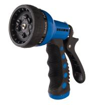Dramm 12705  9-Pattern Revolver Spray Nozzle, Blue