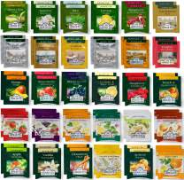 Tea Bags Sampler Assortment Box -(60 Count)-Perfect Variety Tea pack in Gift Box - Gift for Family, Friends, Coworkers- English Breakfast, English Afternoon, Green
