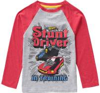 Hot Wheels Boys Long Sleeve Tee T-Shirt