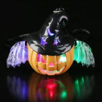 Fun Central LED Witch O Lantern Necklace for Kids & Adults Halloween Accessory
